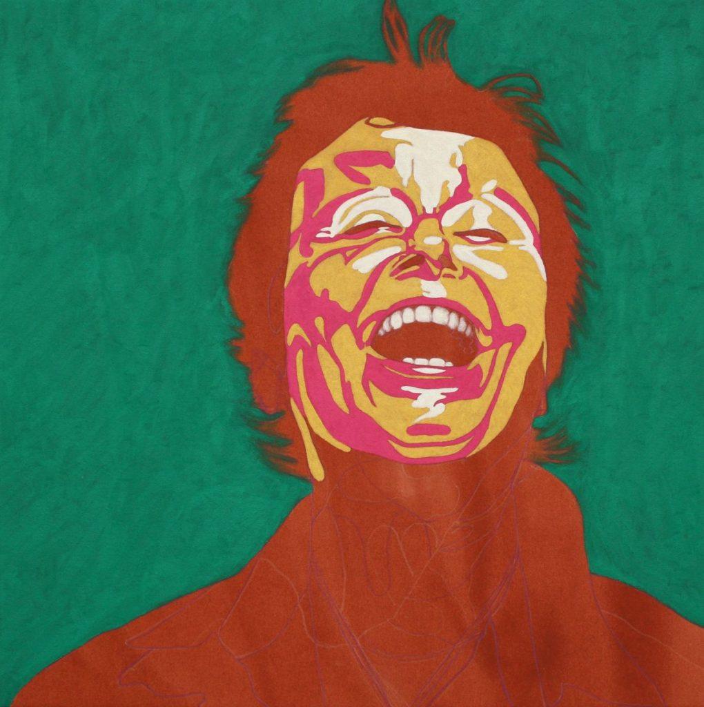 Dany Moreuil - William Mathieu - Huile et acrylique sur toile - 2015 - 55 x 55 cm