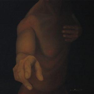 Etude clair-obscur - William Mathieu - Huile sur toile - 2011 - 8C