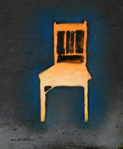 Révélation par la lumière - William Mathieu - Huile sur toile - 2012 - 40 x 33 cm