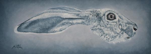 Saturne - William Mathieu - Huile sur toile - 2016 - 27 x 77 cm